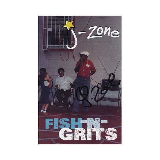 J-Zone - Fish​-​n​-​Grits Cassette