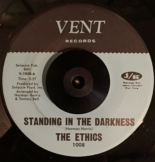 The Ethics ‎– Standing In The Darkness / That's Th