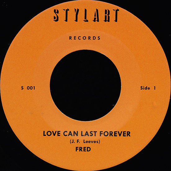 Fred - Instrumental Band ‎– Love Can Last Forever