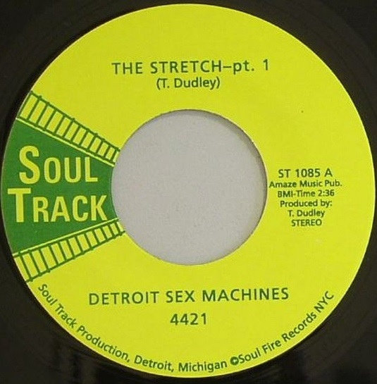 The Detroit Sex Machines ‎– The Stretch