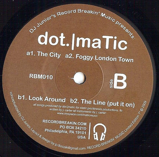 Dotmatic ‎– The City Suite