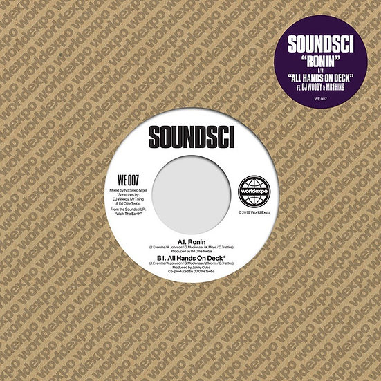 Soundsci ‎– Ronin / All Hands On Deck