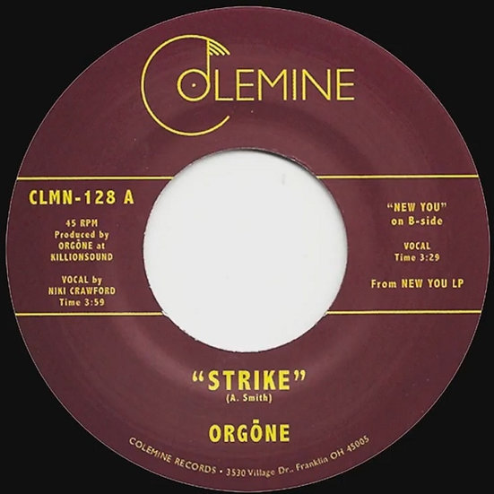 Orgone – Strike