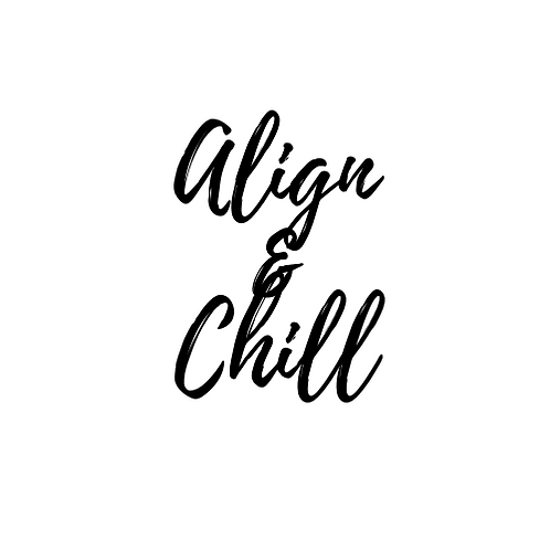 "Reiki Charged Candle -""Align & Chill"""
