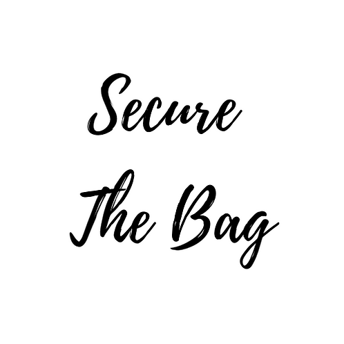 "Reiki Charged Candle - ""Secure The Bag"" (Better Business)"