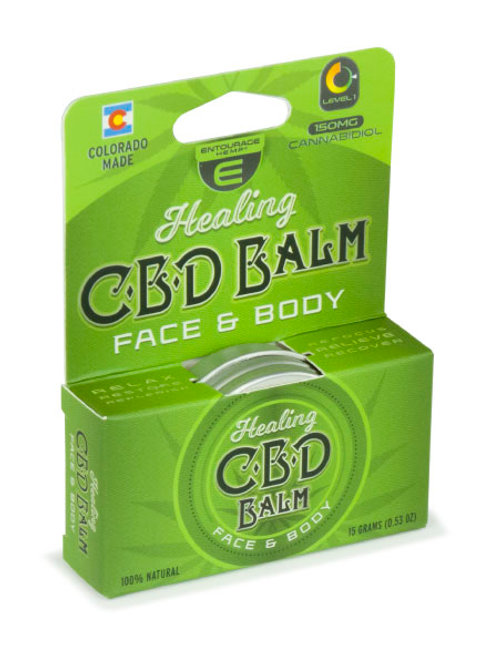 Entourage Hemp Healing Balm Face & Body 150mg CBD