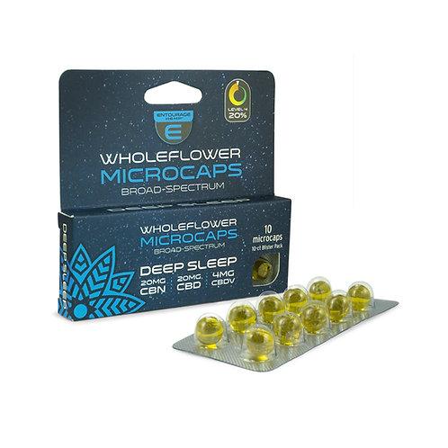 10-ct Deep Sleep Microcaps 20mg CBN 20mg CBD 4mg CBDV