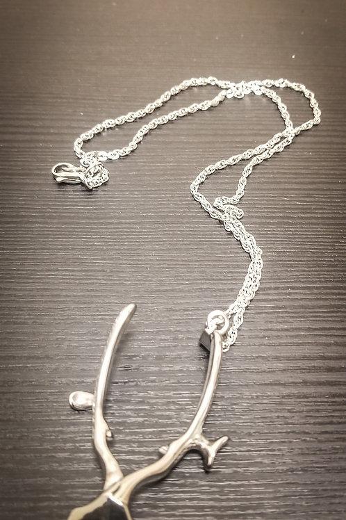 Clipper Necklace Silver
