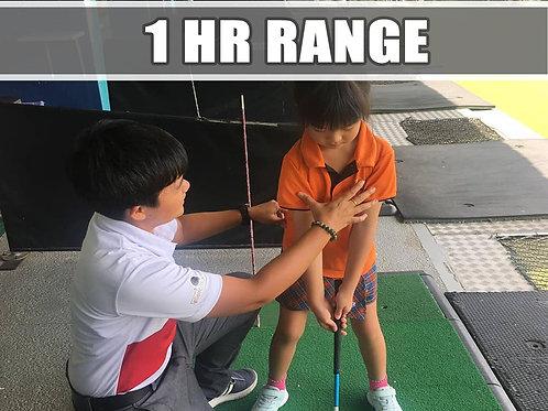 Ad-Hoc 1Hr Range Lesson( Group of 3 )