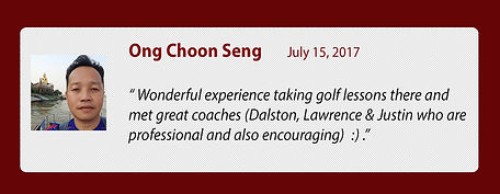 Singapore golf,Golfer