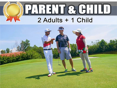 2Adults + 1Child ( Gold 3 Months )