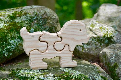 Children's Puzzle - Dog