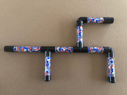 Marshmallow Shooters - Blue & Red Camo