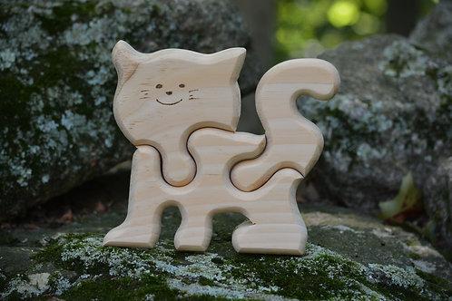 Kitten - Handmade Children's Puzzle