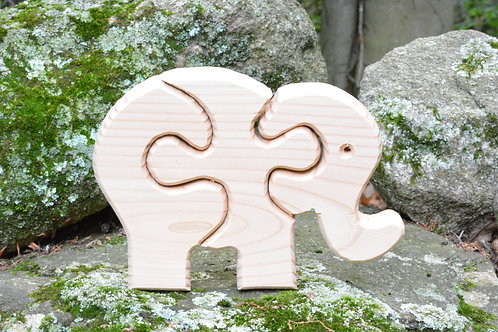 Children's Puzzle - Elephant