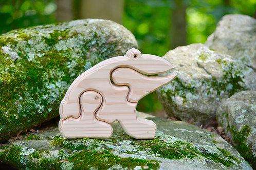 Children's Puzzle - Frog