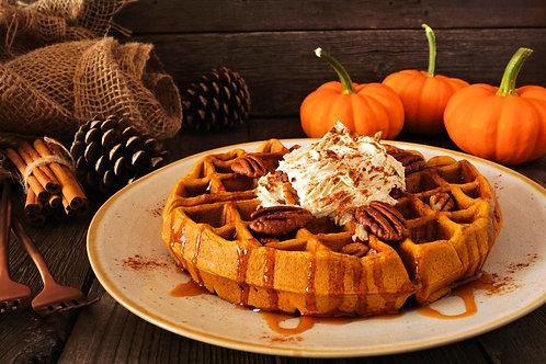 Pumpkin Pecan Waffles - Soy Candle