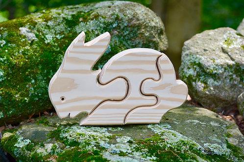 Children's Puzzle - Rabbit