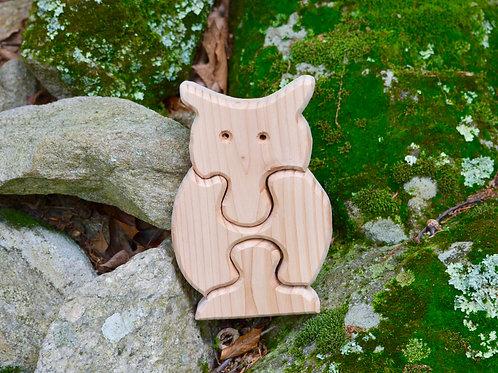 Children's Puzzle - Owl