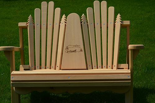 Adirondack Love Seat - Handmade
