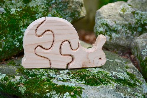 Children's Puzzle - Snail