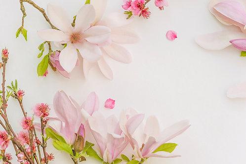 Peach Magnolia -Soy Candle