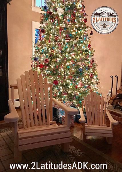 Adirondack Lawn Chairs - Chistmas