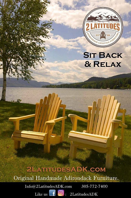 Adirondack Lawn Chairs - Natural