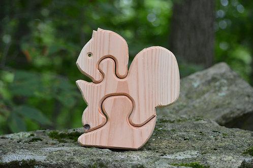Children's Puzzle - Squirrel