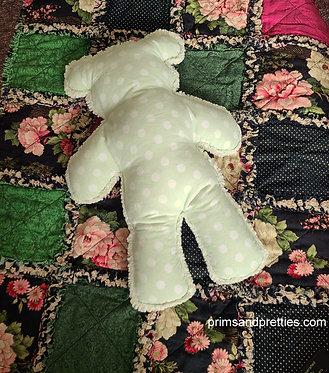 MEDIUM #10 Raggy Bear & Rag Quilt