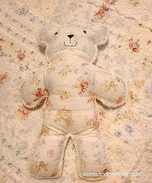 MEDIUM #7 Raggy Bear & Quilts