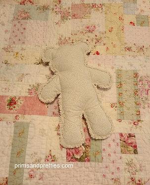 MINI #1 Raggy Bear & Quilt