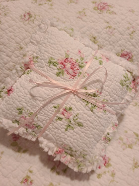 Rag Quilted Lavender Sachets Set of 3