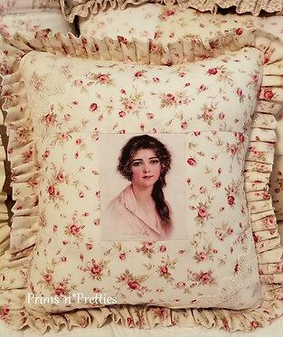 Raspberry Woman Sachet Pillow