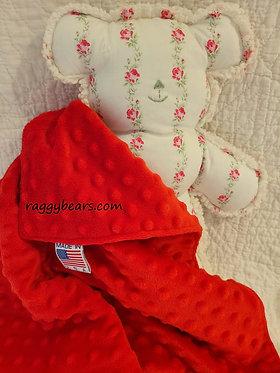 MEDIUM #2 Raggy Bear & Blanket