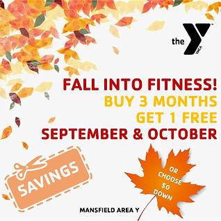 Fall Membership Promotion Mansfield YMCA