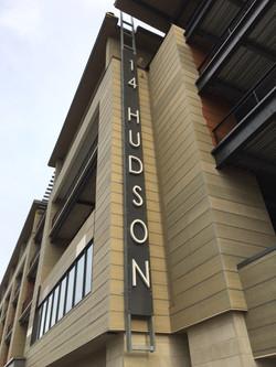 14 Hudson Metal Sign
