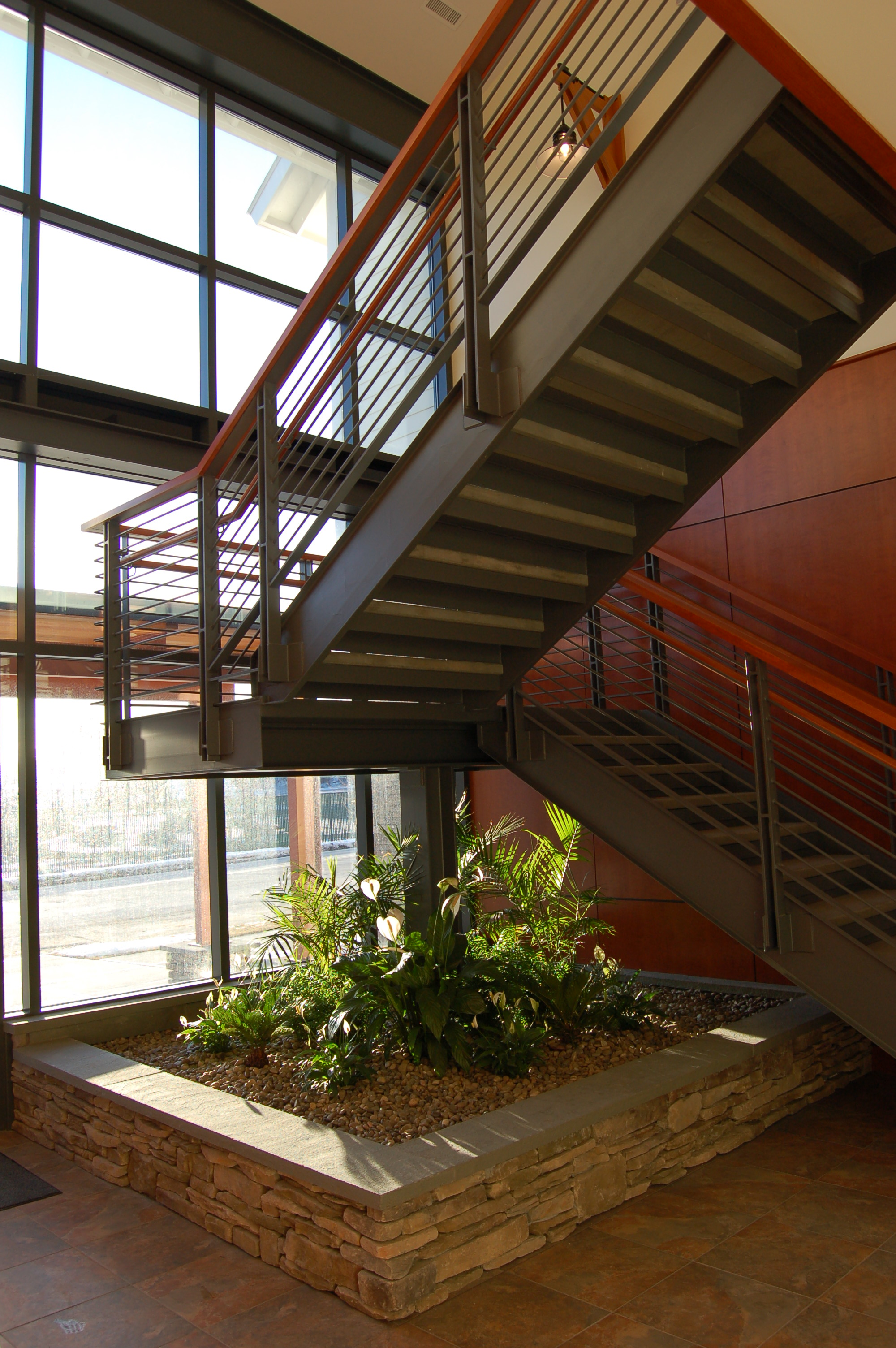 East Ave Custom Stair