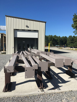Structural Steel With Zinc-Rich Primer
