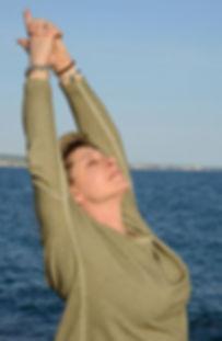 Dhanya Om Yoga teacher