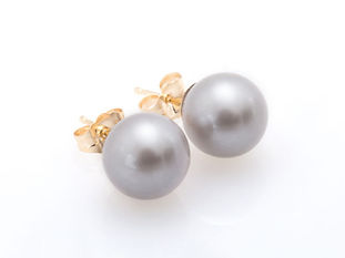 grey FRESH WATER pearl-earring-1-500x500