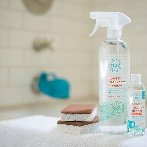 HONEST COMPANY BATHROOM CLEANER