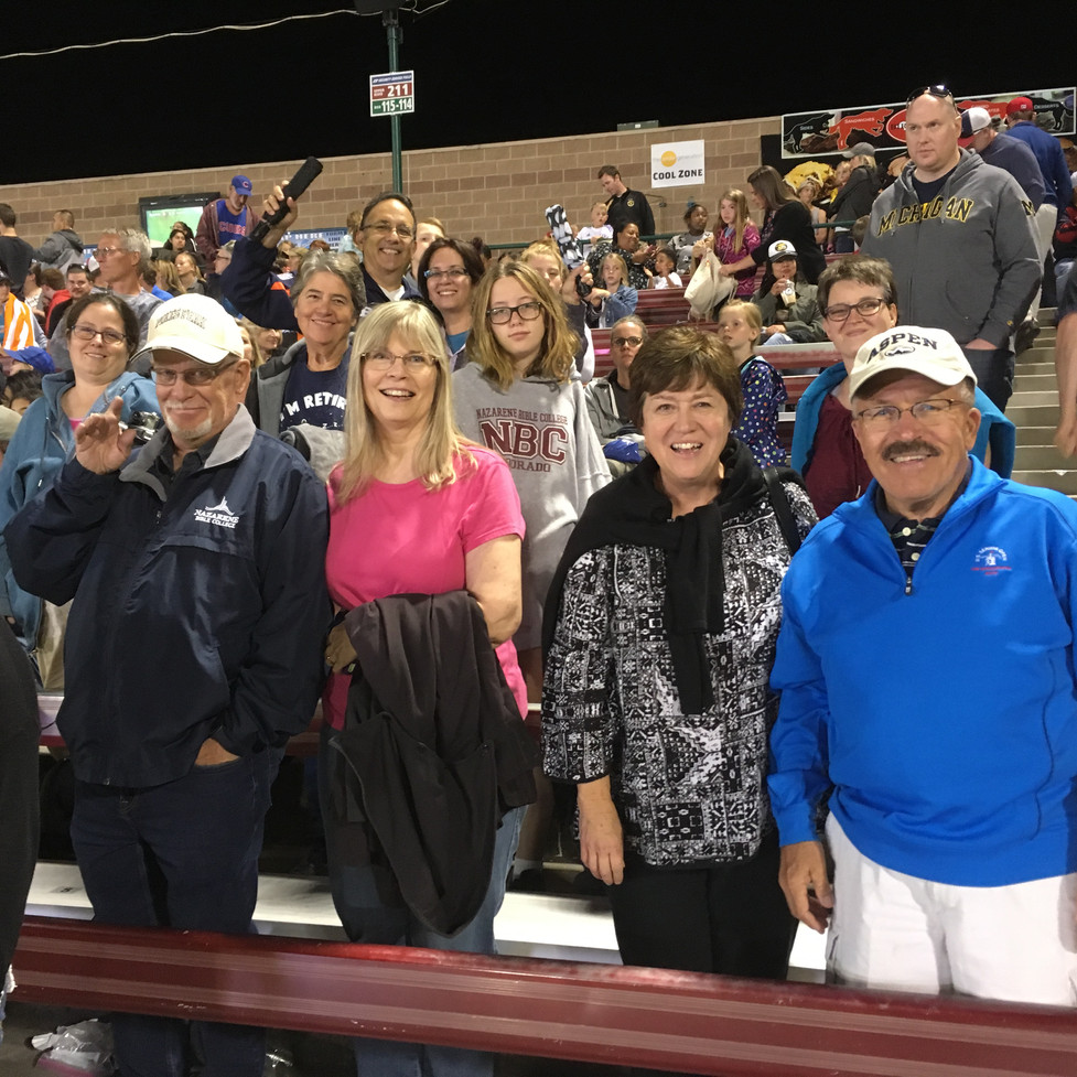 some of us at the baseball game.JPG