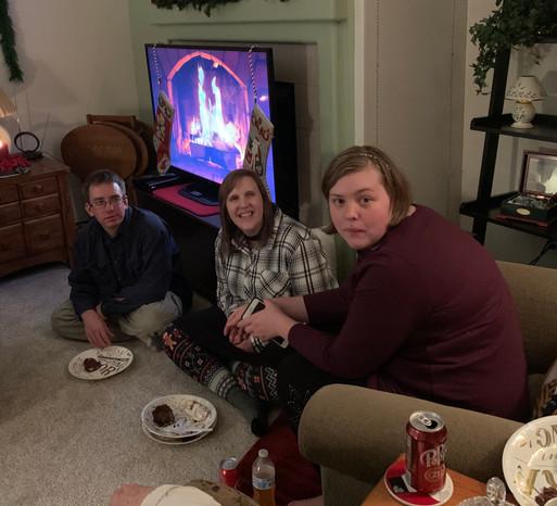 Allie, Jon & Katy at Christmas party.jpg