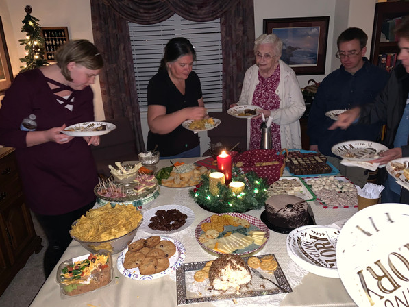 OCC Christmas party 2019 - around food.j