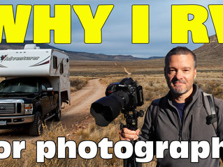 Why You Should Rent An RV or Camper Van On Your Next Photo Trip