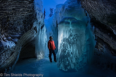 Ice Cave at Natural Bridge