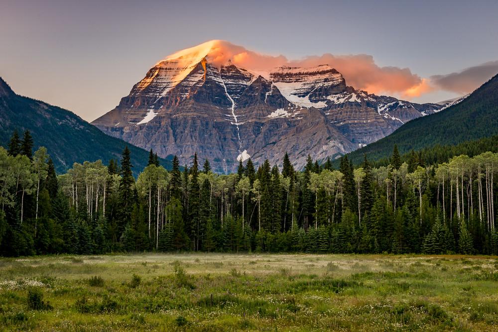 Mount Robson Sunset