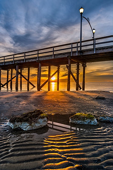 The pier in White Rock, BC