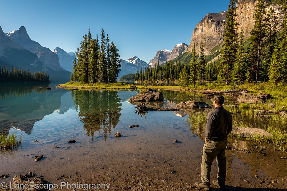 Spirit Island, Malign Lake, Jasper National Park